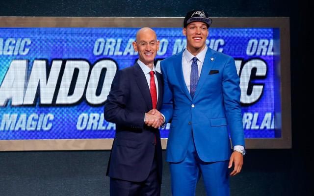 Orlando Magic select Aaron Gordon with No. 4 pick of 2014 NBA draft