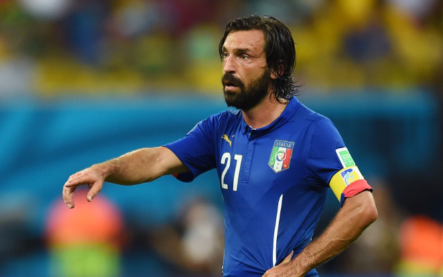 Liverpool enter race to sign Andrea Pirlo: Rodgers to take on Chelsea for midfield legend