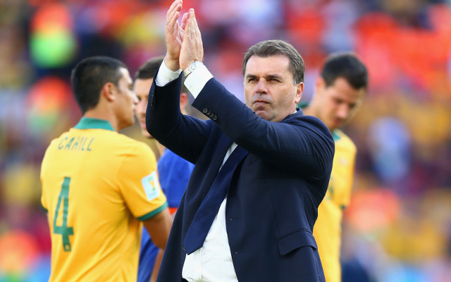 Socceroos boss Ange Postecoglou to help AFL club Carlton find new coach