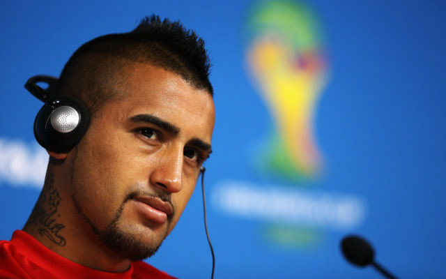 Manchester United will offer current stars in bid to sign £32m rated Arturo Vidal