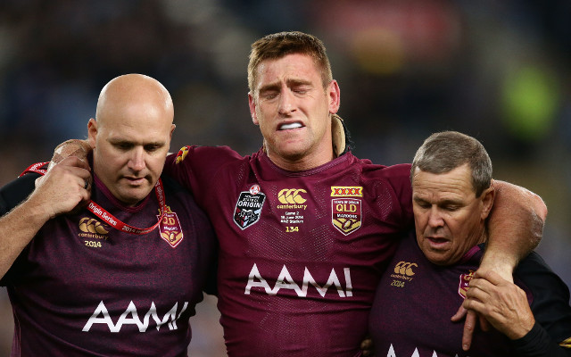 Brent Tate concedes he might have played his last game in the NRL