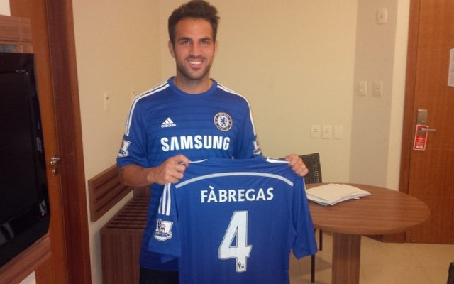 Revealed! The one thing that convinced Cesc Fabregas to join Chelsea over Arsenal
