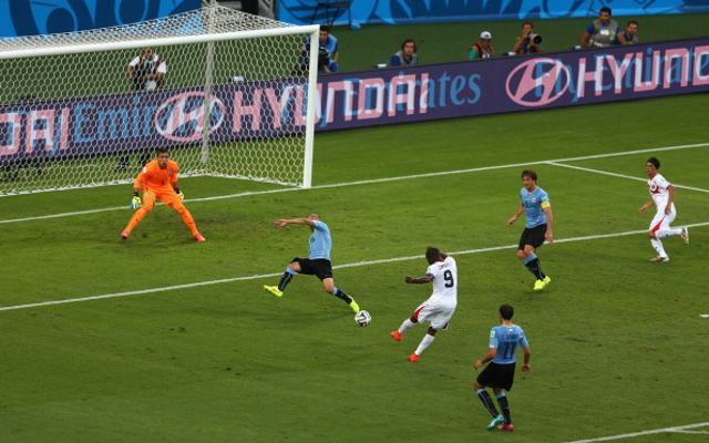 Costa Rica 3-1 Uruguay: report and video highlights from World Cup Group D