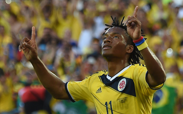 Colombia World Cup star refuses to rule out Man United move
