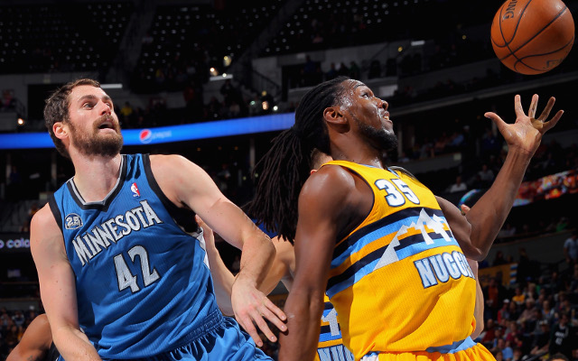 NBA trade rumors: Denver Nuggets offer Kenneth Faried for Kevin Love