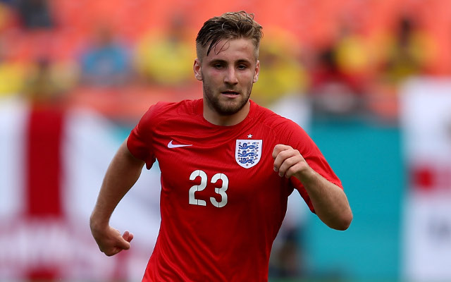 Manchester United tried to sign Luke Shaw when he was just 16 years old