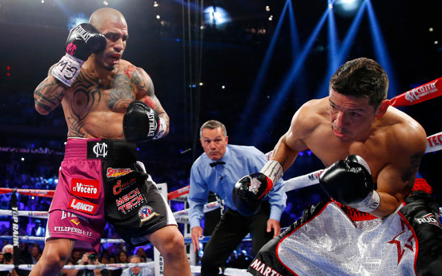 (Video) Boxing result: Miguel Cotto dominates Daniel Geale in crushing win