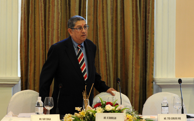 ICC slammed by Australian media for appointment of Srinivasan as chairman