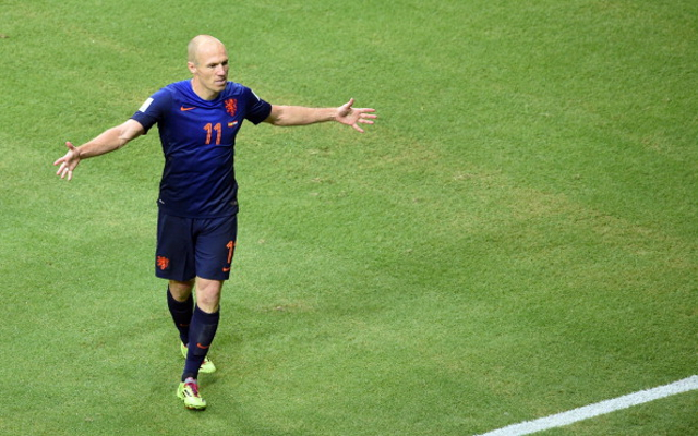 Arjen Robben admits to diving during FIFA World Cup win over Mexico