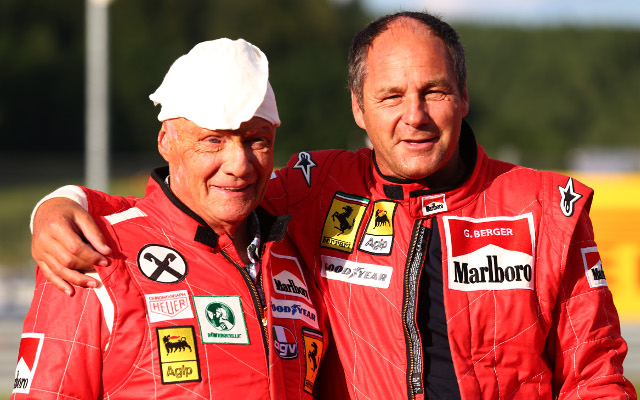 (Vine) Formula 1 legend Gerhard Berger swears on live TV with hilarious consequences