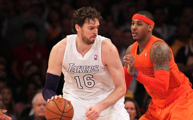New York Knicks trade rumors/news: Pau Gasol on radar to be paired with Carmelo Anthony