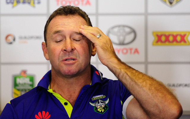 Ricky Stuart slams Raiders and refs in NRL loss to Wests Tigers