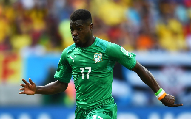 Serge Aurier wants Premier League move, but Ivory Coast star denies Arsenal deal