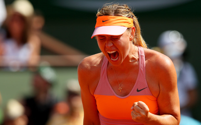 Maria Sharapova wins French Open by beating Simona Halep in epic Roland Garros final