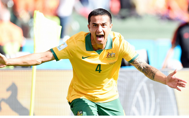 #TimCahilling sweeps Australia after Germany's World Cup demolition of hosts Brazil