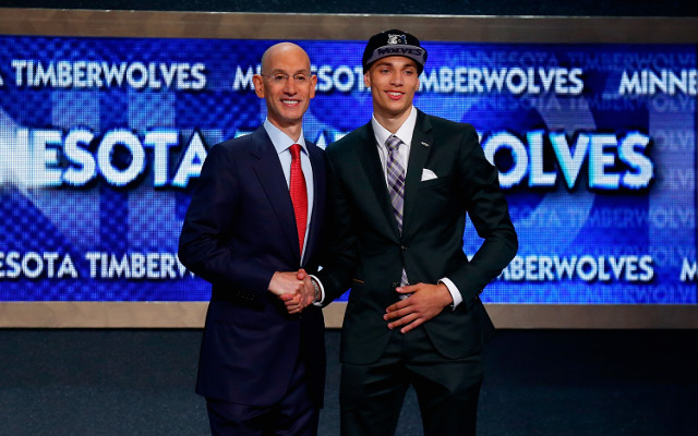 """(Video) Zach LaVine says """"f— me"""" when drafted by the Minnesota Timberwolves"""