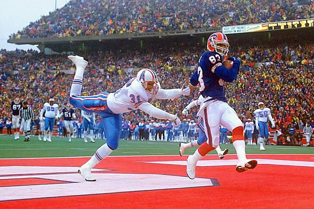 (Video) Buffalo Bills HOFer Andre Reed catches one more pass from Jim Kelly