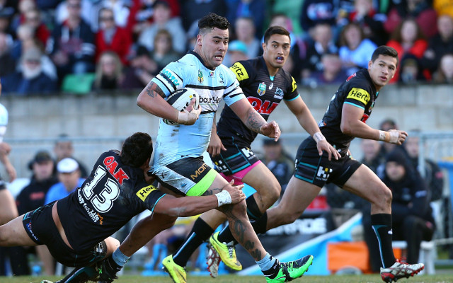 Cronulla Sharks star Andrew Fifita allegedly involved in road rage incident