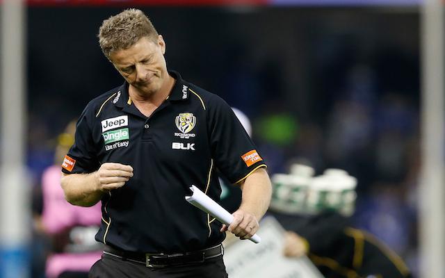 Richmond coach Damien Hardwick says AFL should follow NFL free agency model
