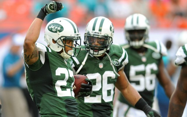 New York Jets CB Dee Milliner in practice, could play against Packers