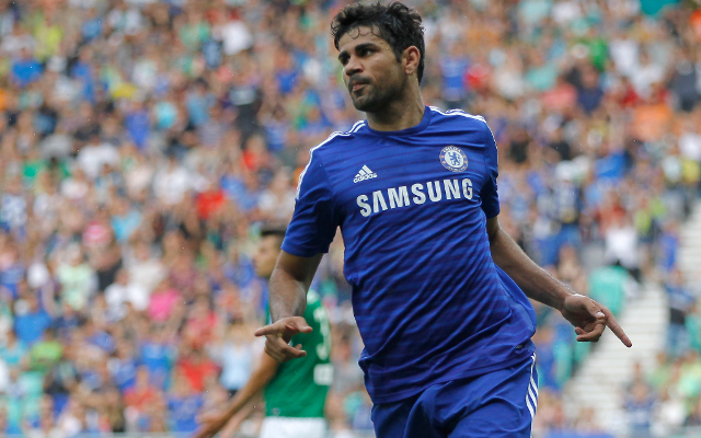Chelsea Duo Cesc Fabregas and Diego Costa feature in Europe's best XI so far this season