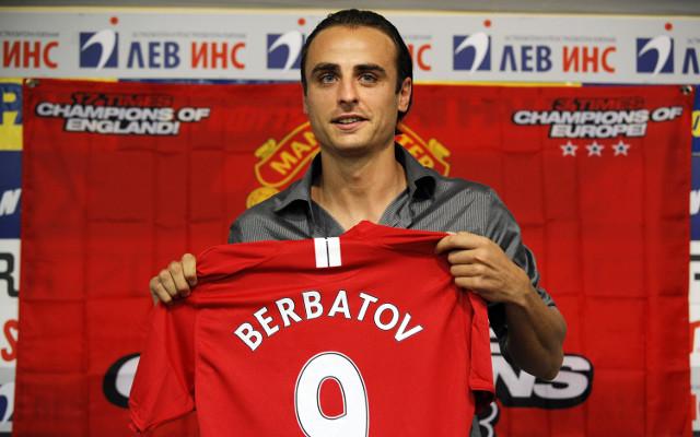 Dimitar Berbatov Manchester United