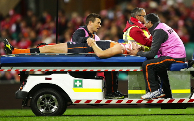 (Image) Greater Western Sydney's Tom Bugg posts photo of Heath Shaw's 'recovery' from AFL head injury