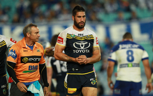 North Queensland Cowboys slam media reports James Tamou has a broken neck