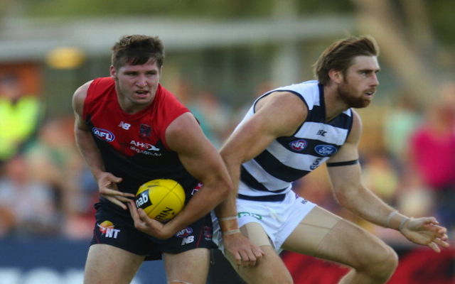 Melbourne Demons young gun Jesse Hogan re-signs for two years