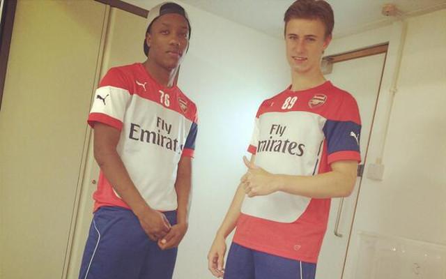 (Images) Arsenal sign English wonderkid from West Ham United