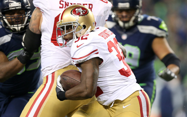 San Francisco 49ers waive injured running back