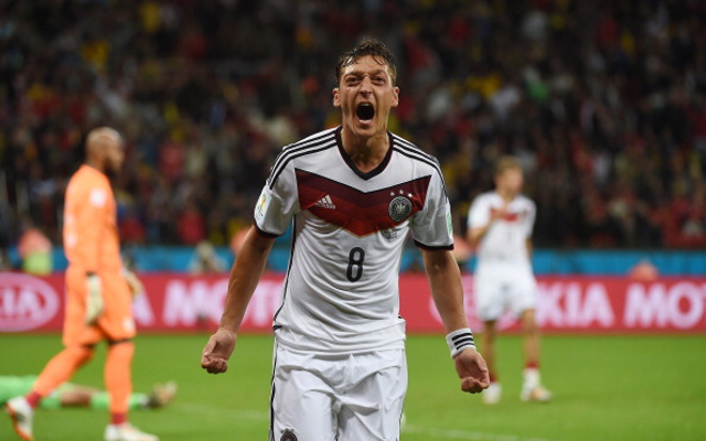 (Video) Arsenal star Mesut Ozil pays for the surgeries of 11 sick children In Brazil