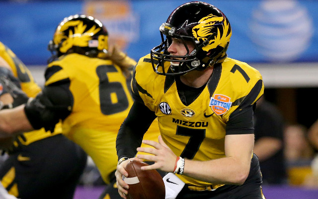 Missouri Tigers' Maty Mauk suffers weight loss after viral infection