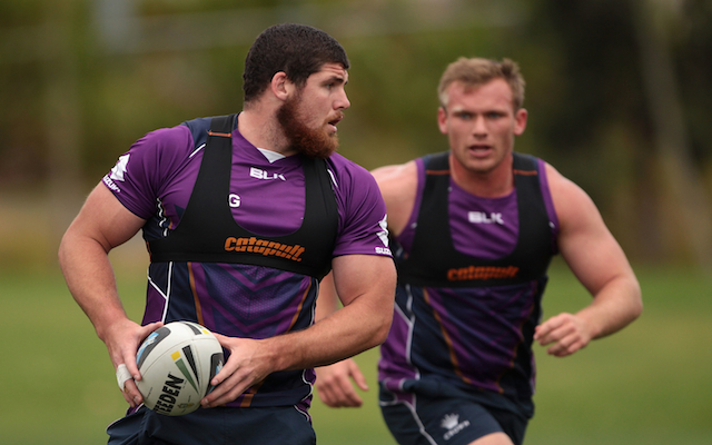 NRL club Brisbane Broncos sign Melbourne Storm prop Mitch Garbutt