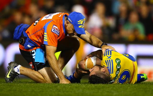 (Image) Parramatta Eels forward Nathan Peats posts pre-surgery selfie following NRL injury