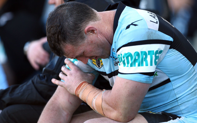 Cronulla Sharks captain Paul Gallen may miss rest of NRL season