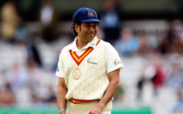 (Video) Sachin Tendulkar walks out to bat at Lords in RoW v MCC game