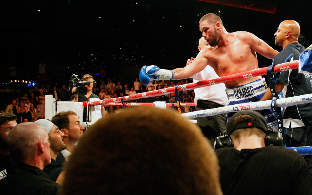 (Image) Eddie Hearn announces Tony Bellew-Nathan Cleverly 2
