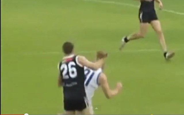 (Video) Vicious sucker punch knocks player unconscious in AFL Sydney Premier Division