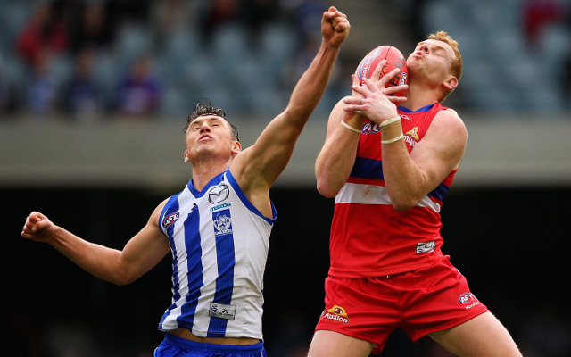 (Video) North Melbourne Kangaroos v Western Bulldogs: Full AFL match highlights
