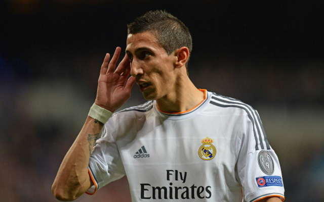 Manchester United agree British transfer record fee for Angel di Maria