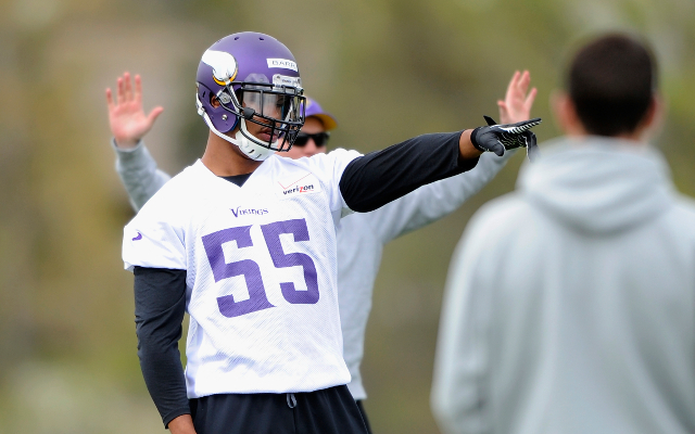 Mike Zimmer says Vikings rookie linebacker may start right away