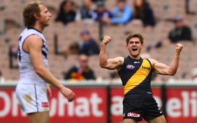 Richmond midfielder Anthony Miles rewarded for breakout AFL season