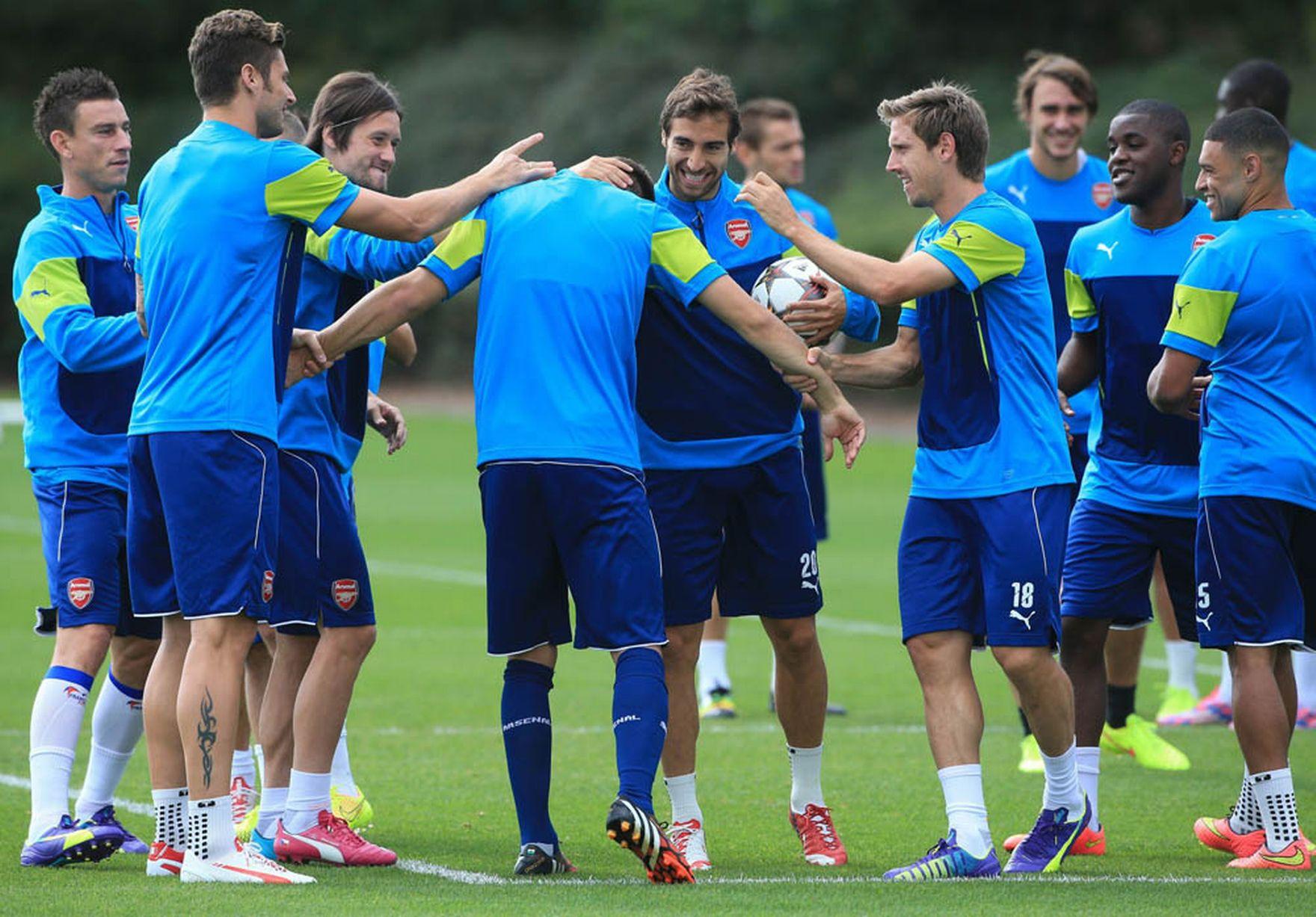 Arsenal-Training-Pics 2
