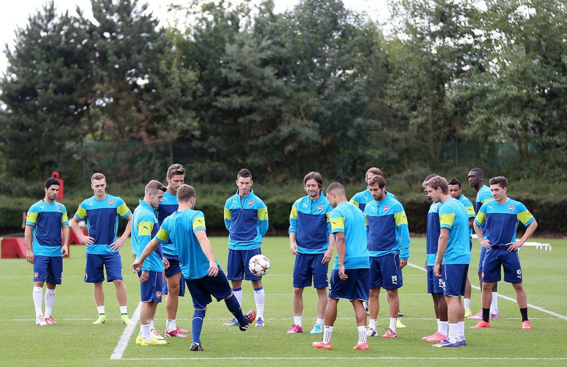 Arsenal-Training-Pics 3