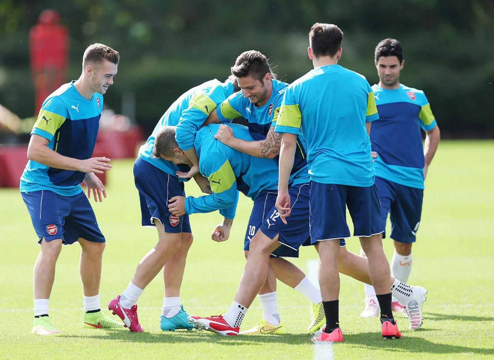 Arsenal-Training-Pics 5