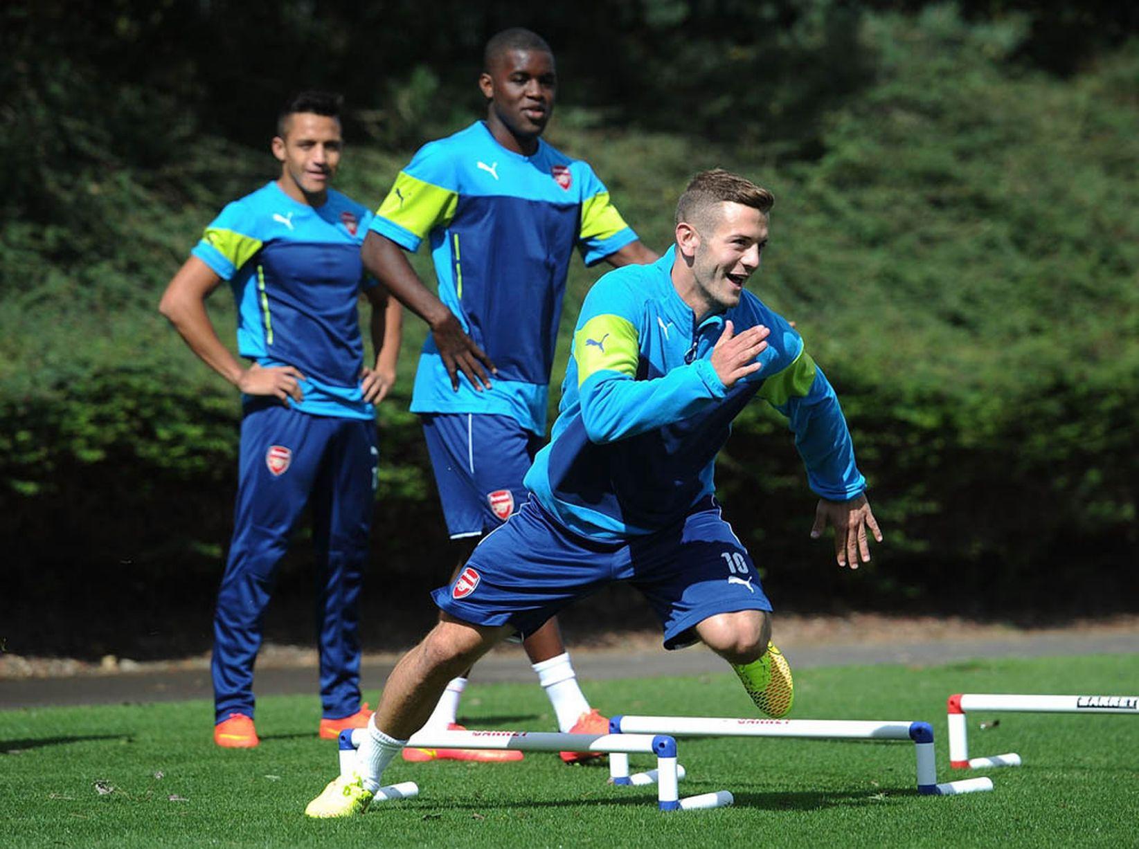 Arsenal-Training-Pics