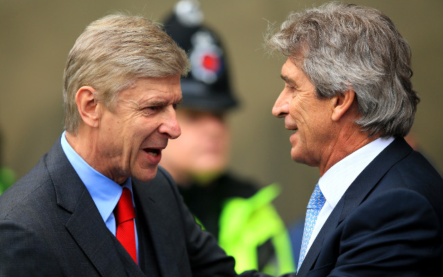 Arsenal and Manchester City combined XI ahead of their Community Shield clash