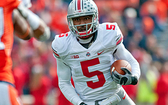 (Image) Is injured Ohio State QB Braxton Miller rooting for Oregon?!