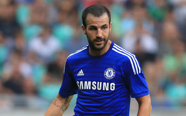 (Picture) Amazing stat shows Chelsea's Cesc Fabregas is more creative than entire Arsenal side